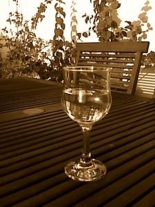 O copo do Pedro