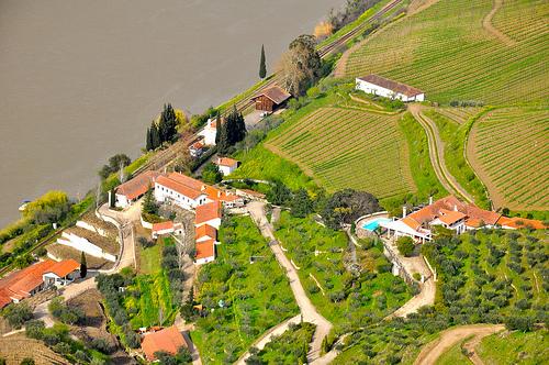 The houses of the famous Quinta de Vargellas